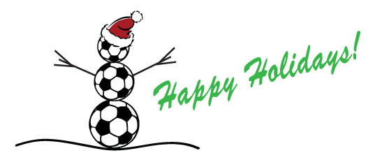 Image result for soccer happy holidays